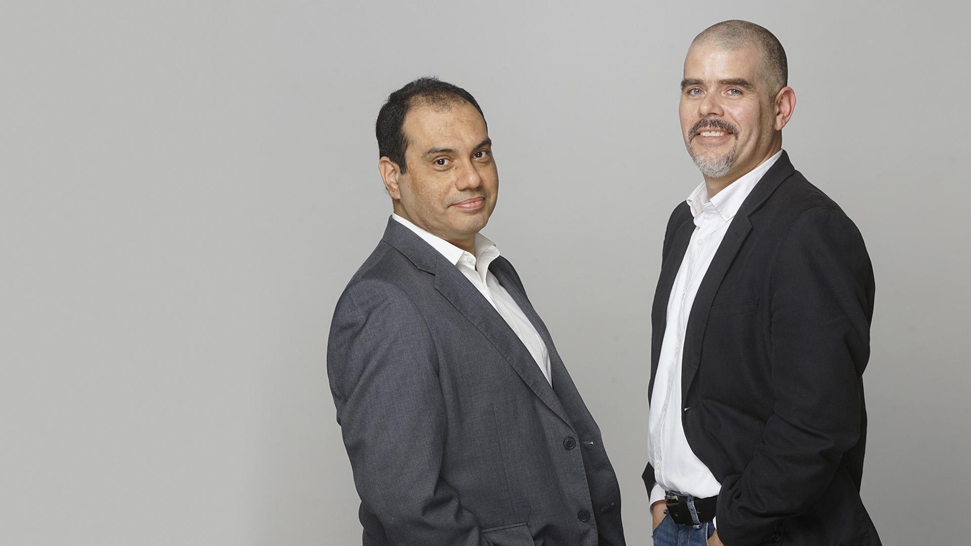 Gustavo Adrianzén y Orazio Potestá